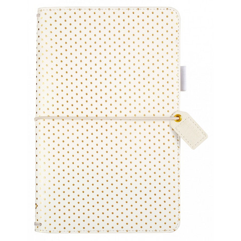 Webster`s Pages Color Crush - Travelers' Notebook, Gold Dot