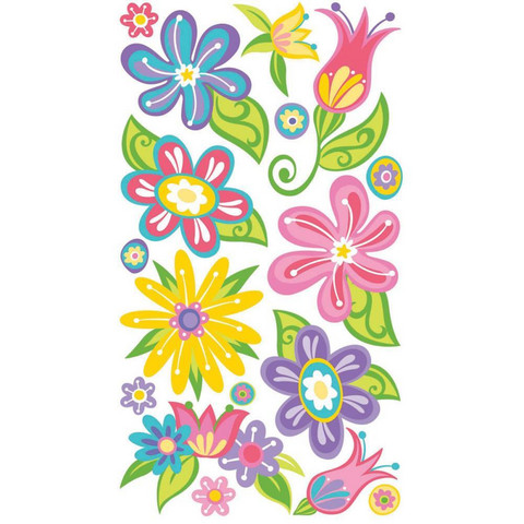Sticko - Small Fanciful Flowers, tarra-arkki