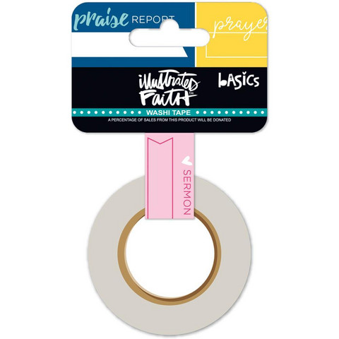 Illustrated Faith Washi Tape, Document It