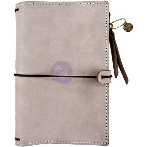 Prima Marketing - Prima Traveler's Journal Leather Essential Personal, Warm Stone