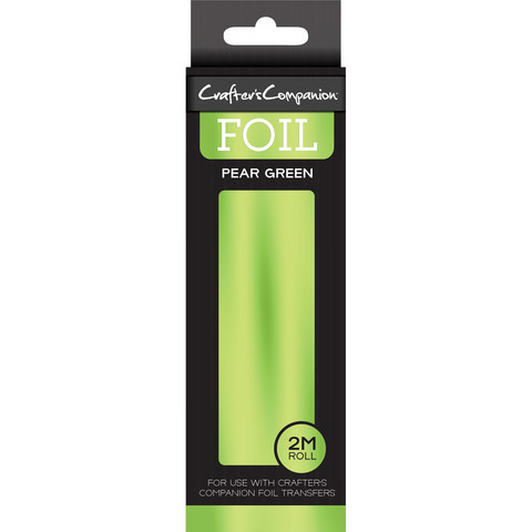 Crafter's Companion Foil, Pear Green