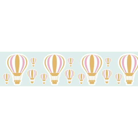 Little B - Gold Hot Air Balloon Foil Decorative Tape, 25mmx10m