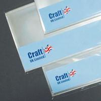 CraftUK - Sulkijapussi, 205x205mm, 50kpl