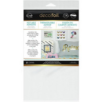 Deco Foil - Iron-On Adhesive Transfer Sheet, 5kpl