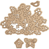 Spellbinders - Four Seasons Spring Canopy & Elements, Stanssisetti