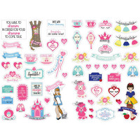 Prima Marketing - Julie Nutting Planner Stickers, Fairytales, 56 tarraa