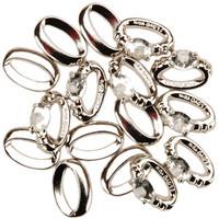Dress It Up - Wedding Rings, Koristenappisetti