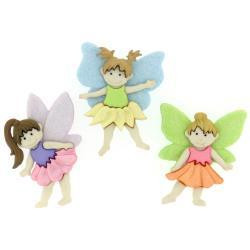 Dress It Up - Flower Fairies, Koristenappisetti