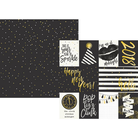 Simple Stories - Simple Sets 2018 Double-Sided Cardstock 12