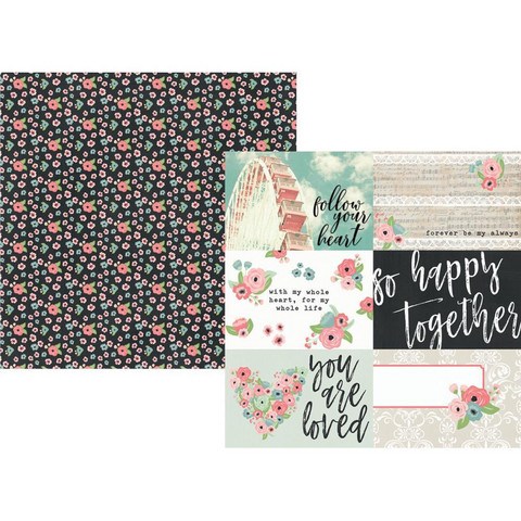 Simple Stories - Romance Double-Sided Cardstock 12