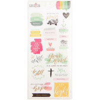 Creative Devotion - Stickers, Matte Scripture