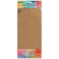 Dyan Reaveley's Dylusions - Journal Tags, 12#, Kraft, 10 kpl