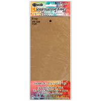 Dyan Reaveley's Dylusions - Journal Tags, 10#, Kraft, 10 kpl