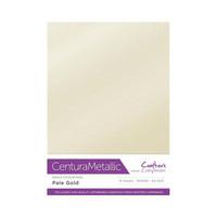 Crafter`s Companion - Metallivärikartonki, Pale Gold, A4, 10 arkkia