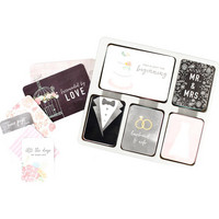 Project Life - Core Kit, Modern Wedding, 616osaa