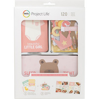Project Life - Lullaby Girl Value Pack, 120 osaa
