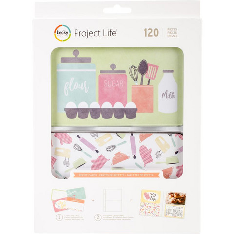 Project Life - Recipe Value Pack, 120 osaa