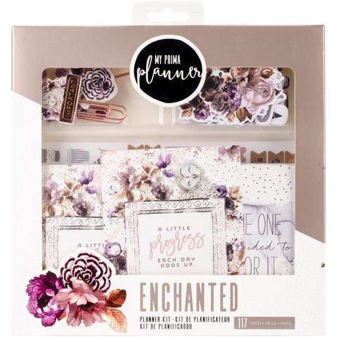 Prima Marketing - My Prima Planner, Enchanted, Embellishments & Insert Kit