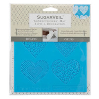 SugarVeil - Silikonimuotti, Hearts