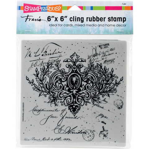 Stampendous - Cling Stamps, Ornate Scroll