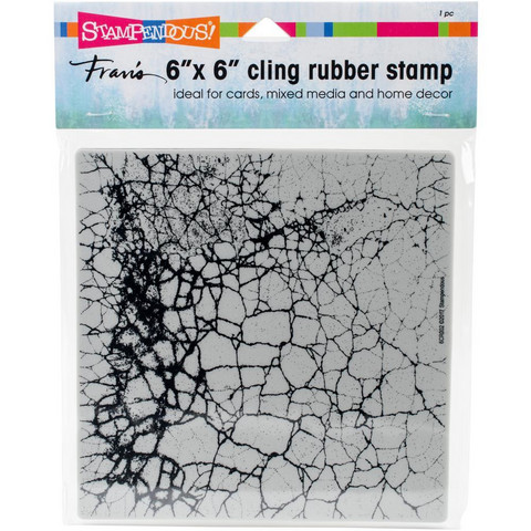 Stampendous - Cling Stamps, Crackle