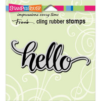 Stampendous - Leima, Big Brush Hello