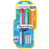 Paper Mate - Clearpoint Erasable Mechanical Pencil Refill, 0,7 mm