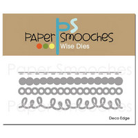 Paper Smooches - Deco Edge, Stanssisetti