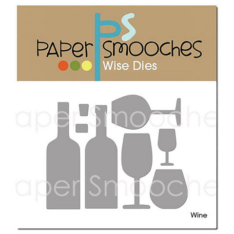 Paper Smooches - Wine, Stanssisetti