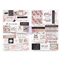 Prima Marketing - Amelia Rose Stickers, Stay Curious Words & Quotes, Tarrasetti
