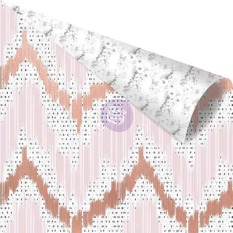 Prima Marketing - Cherry Blossom Rose Gold Foiled, Vivid Patterns, 12