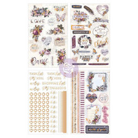 Prima Marketing - Lavender Stickers, Icon & Journal Accents, Tarrasetti