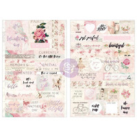 Prima Marketing - Love Story Stickers, Words & Quotes, Tarrasetti
