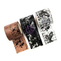 Prima Marketing - Traveler's Journal Decorative tape, Inked Maps, 3 rullaa