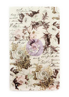 Prima Marketing - Prima Traveler's Journal Personal Notebook Refill, Floral & Script
