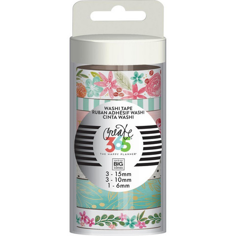 MAMBI - Happy Planner Washi Tapes, Happy Mind, Teippisetti