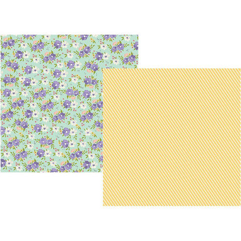 Simple Stories - Bliss Double-Sided Cardstock 12