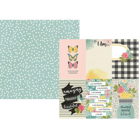 Simple Stories - I Am Double-Sided Cardstock 12