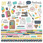 Simple Stories - Crafty Girl Cardstock Stickers 12