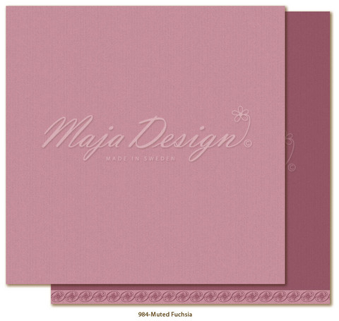 Maja Design - Monochromes - Shades of Celebration - Muted Fuchsia