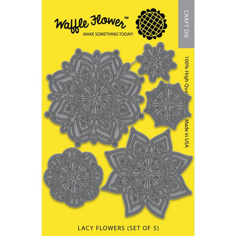 Waffle Flower - Lacy Flowers, Stanssisetti