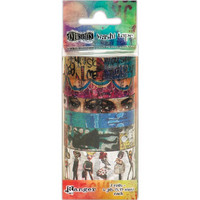 Dyan Reaveley's Dylusions Creative Dyary Tape, Set #2, 7rullaa