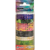 Dyan Reaveley's Dylusions Creative Dyary Tape, Set #3, 7rullaa