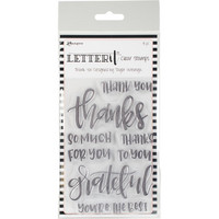 Ranger - Letter It Clear Stamp Set, Thank You, Leimasetti