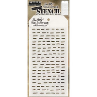 Tim Holtz - Layered Stencil, Dashes