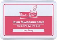 Lawn Fawn - Dye Ink, Raspberry, Leimamustetyyny