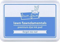 Lawn Fawn - Dye Ink, Forget-me-not, Leimamustetyyny