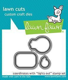 Lawn Fawn - Lights Out, Stanssi