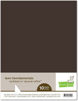 Lawn Fawn - Ground Coffee 8,5