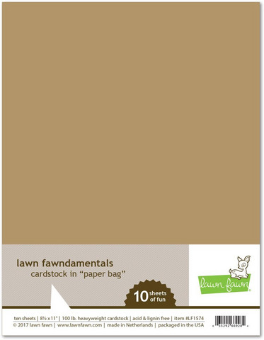 Lawn Fawn - Paper Bag 8,5